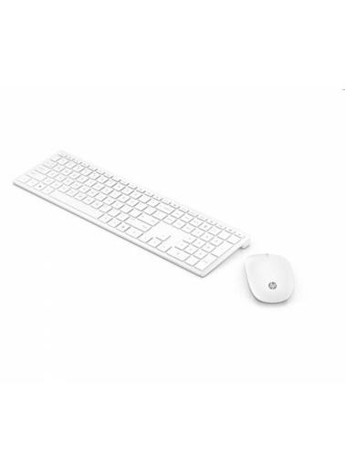 HP Hp Avilion 800 Beyaz Kablosuz Klavye  Set 4Cf00Aa Renkli
